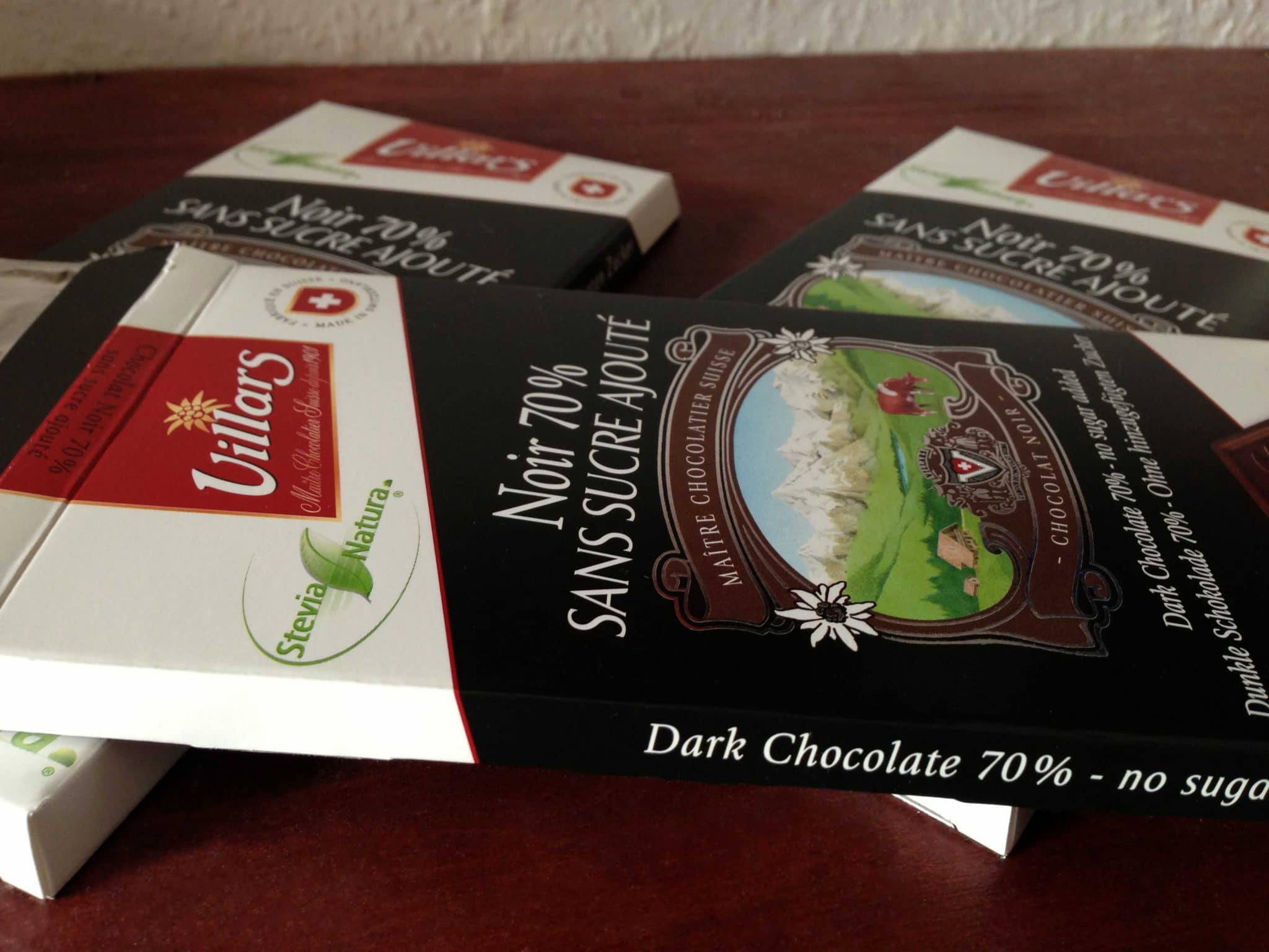 Stevia Schokolade von Villars
