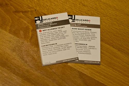 Foodcards für den Restaurantbesuch
