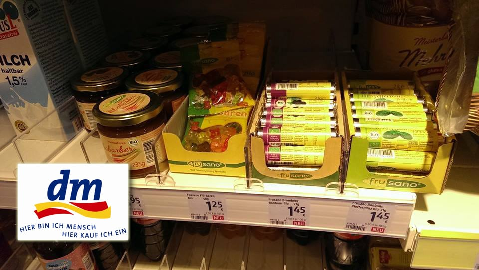 Frusano Produkte bei DM