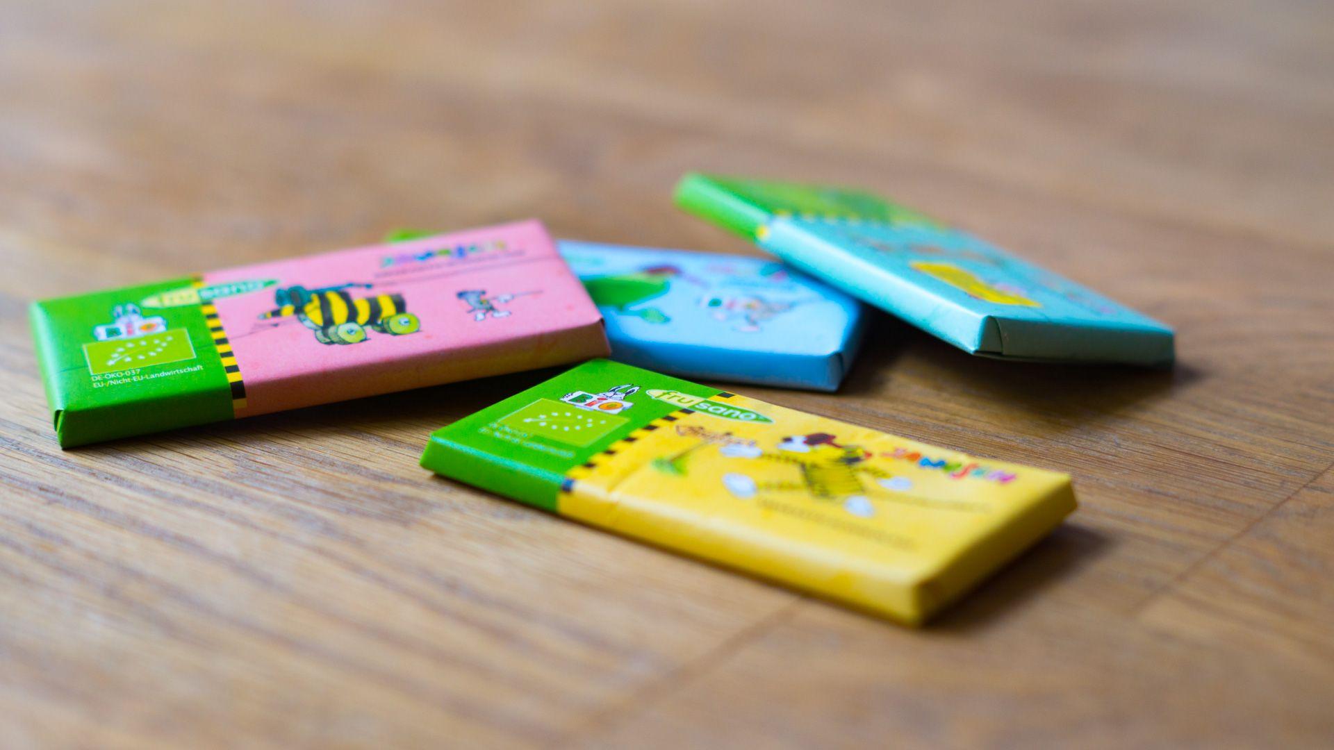 Janosch Bio-Filita-Amaranth-Schokolade Minis von Frusano